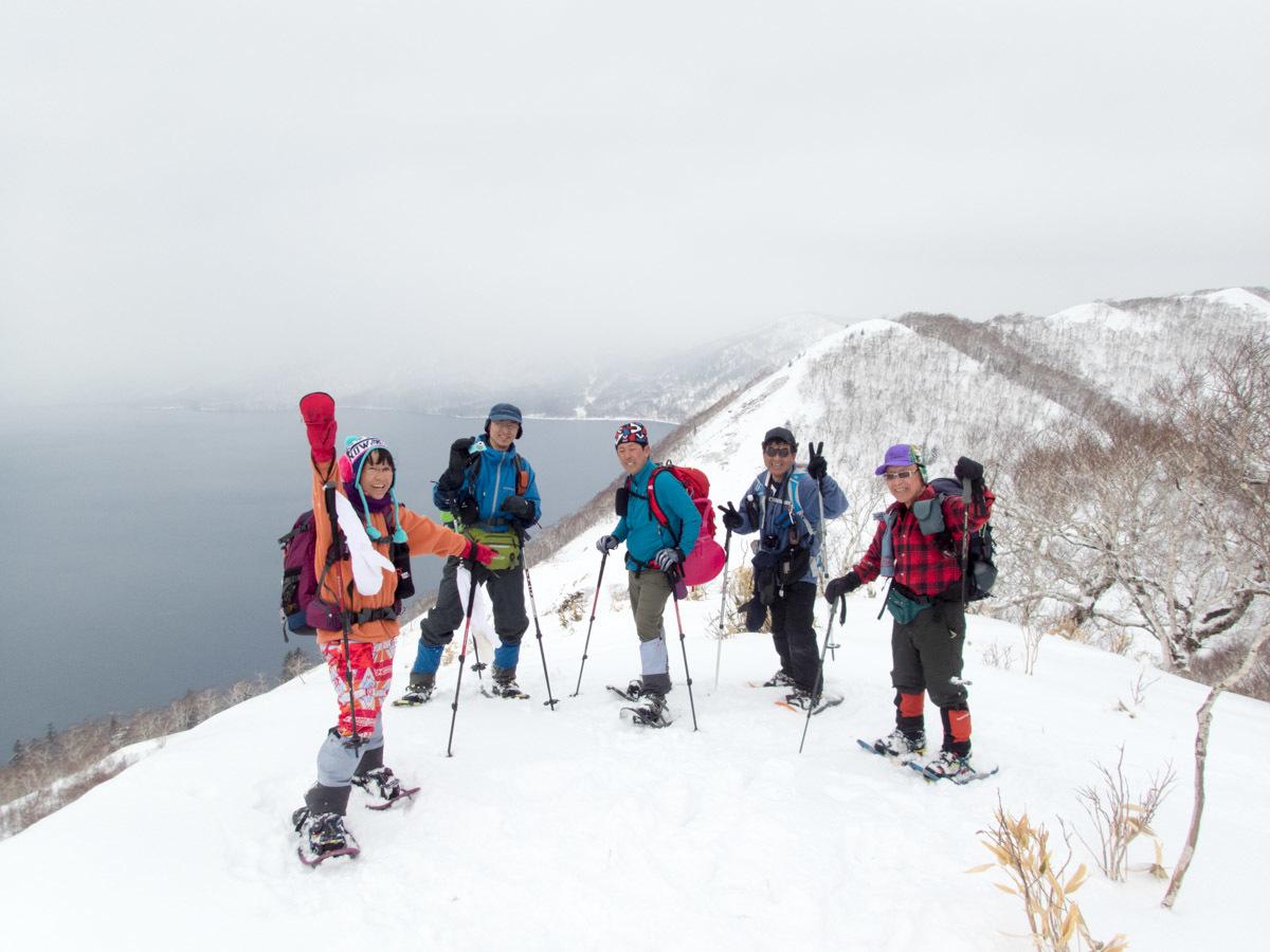 紋別岳から幌平山縦走、3月13日-同行者からの写真-_f0138096_23004522.jpg