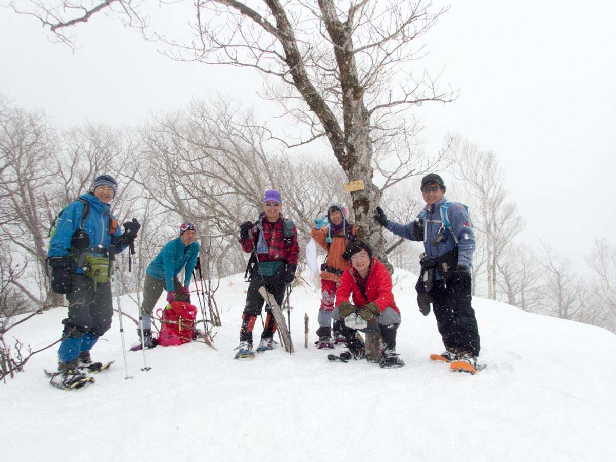 紋別岳から幌平山縦走、3月13日-同行者からの写真-_f0138096_23010094.jpg