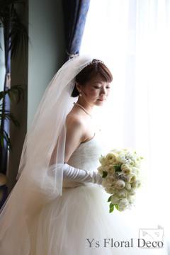 春のティアドロップブーケ ウェスティンホテル東京さんへ_b0113510_16365482.jpg