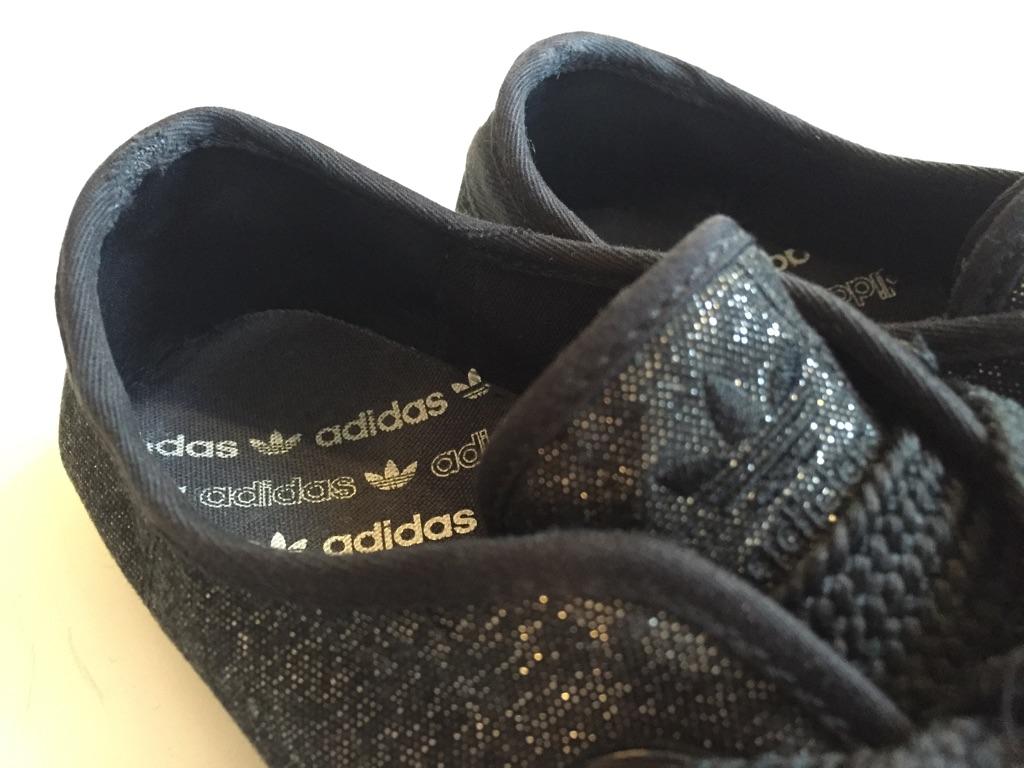 adidas かかと内側破れ スニーカーリペア_b0178425_18514586.jpg