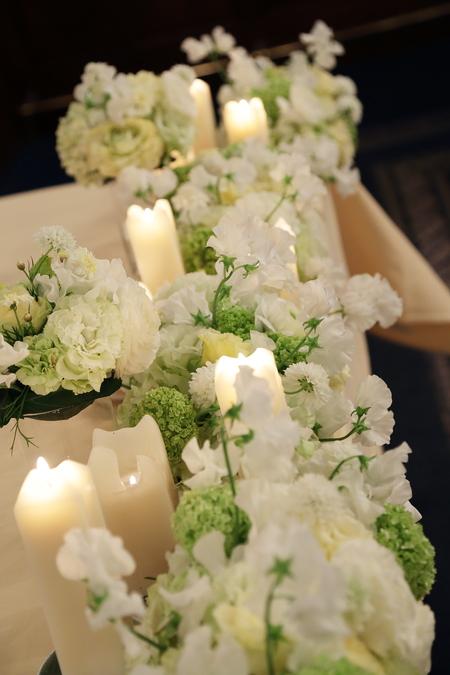 春の装花 桜と春の枝で シェ松尾青山サロン様へ_a0042928_20493861.jpg