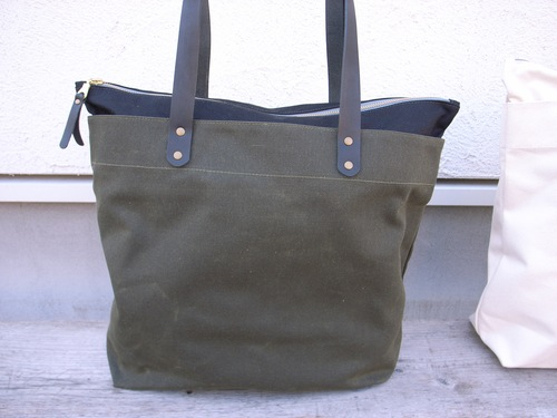 Winter Session ジップトートバック (ZIP-TOP TOTE)_d0334060_1352129.jpg