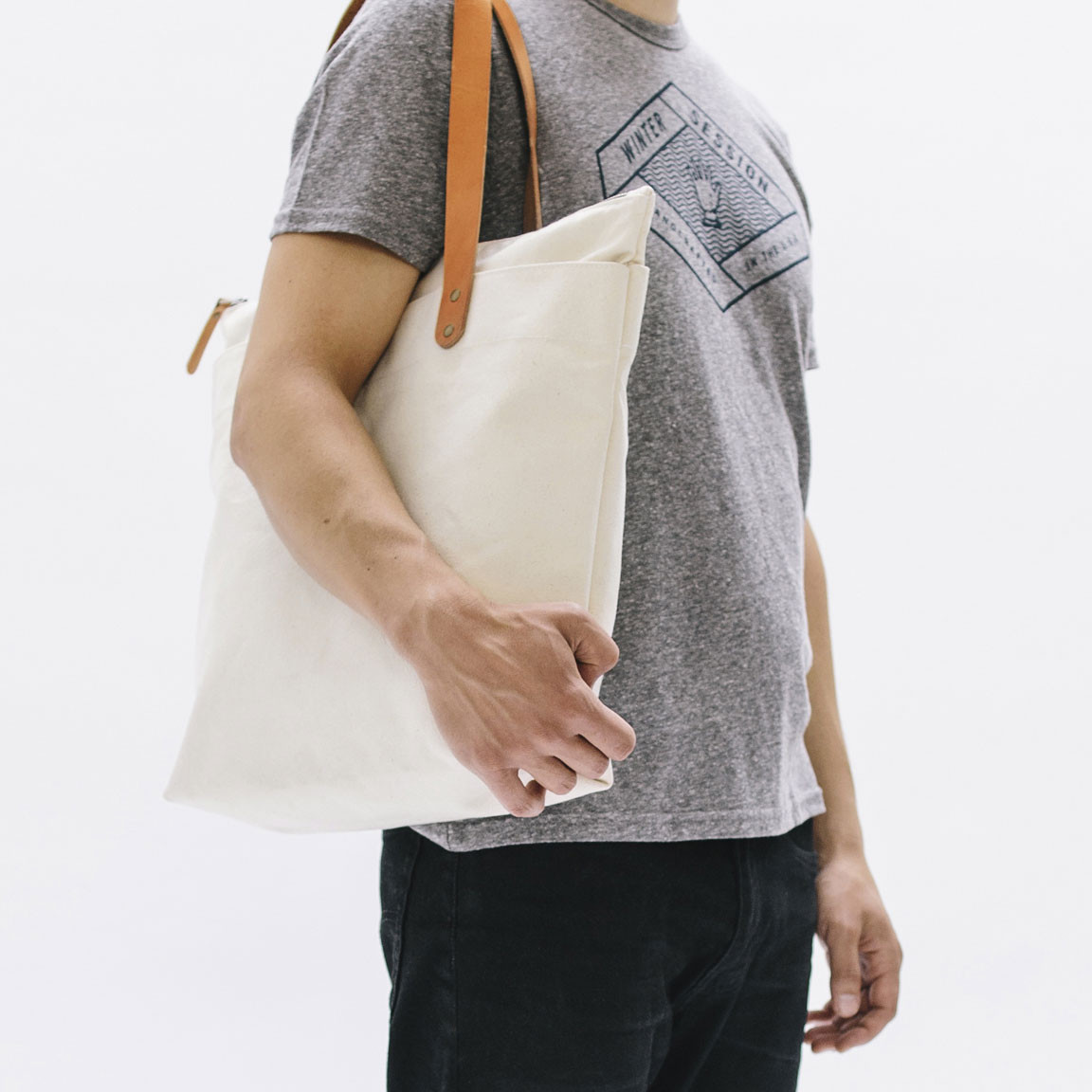 Winter Session ジップトートバック (ZIP-TOP TOTE)_d0334060_13581453.jpg