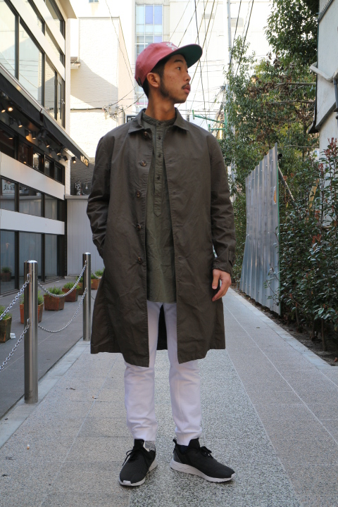 "【NEW ARRIVAL】-Audience-""Horse Cloth\"" Stand Fall Collor Coat _b0121563_15571557.jpg"