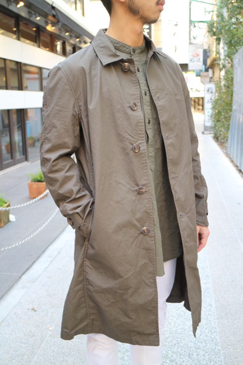"【NEW ARRIVAL】-Audience-""Horse Cloth\"" Stand Fall Collor Coat _b0121563_1557315.jpg"