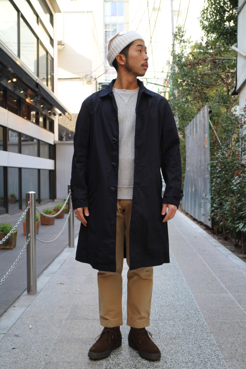 "【NEW ARRIVAL】-Audience-""Horse Cloth\"" Stand Fall Collor Coat _b0121563_15575265.jpg"