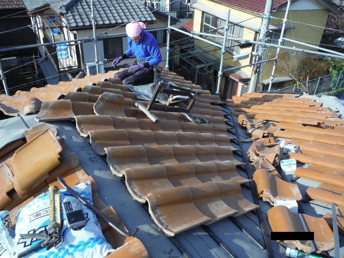 屋根葺き直し、雨樋取替、外壁塗替え ~強化棟。_d0165368_702189.jpg