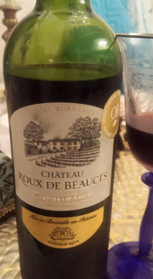 トリプル金賞のワイン ROUX DE BEAUCES★★★★★ _f0186787_23371730.jpg