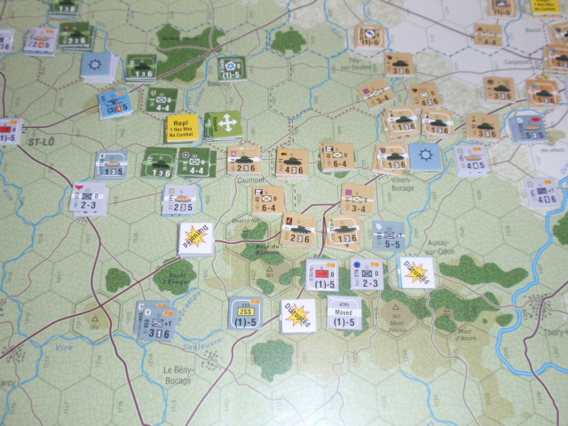 GMT「Normandy\'44」をソロプレイ⑨_b0162202_2023443.jpg