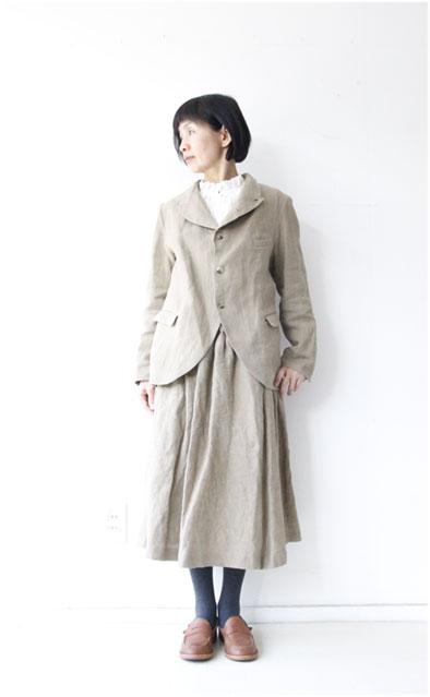 リネンシルクジャケット&スカート_f0215708_16104519.jpg