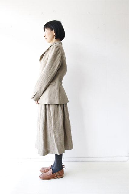 リネンシルクジャケット&スカート_f0215708_16104798.jpg