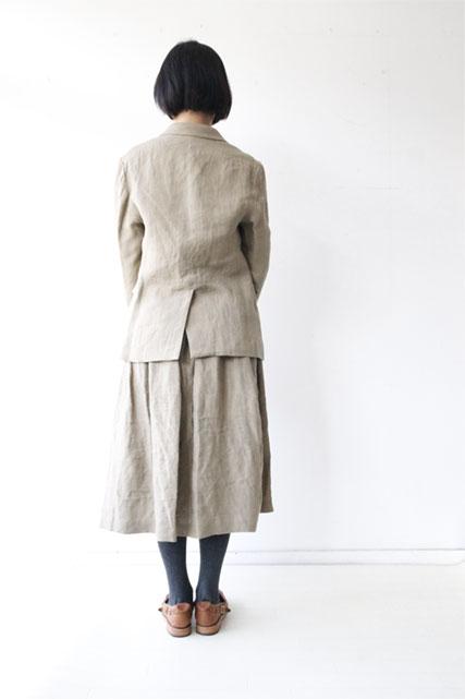 リネンシルクジャケット&スカート_f0215708_1610492.jpg