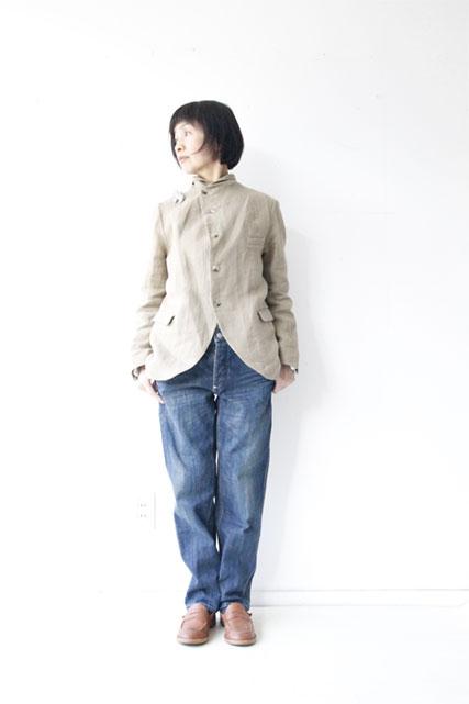 リネンシルクジャケット&スカート_f0215708_16105138.jpg