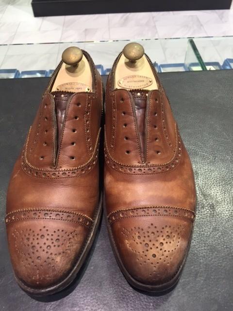 革靴は洗えるんです!!(仕上げ編)_b0226322_16405235.jpg