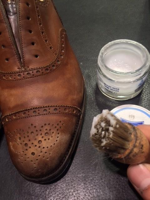 革靴は洗えるんです!!(仕上げ編)_b0226322_16420142.jpg