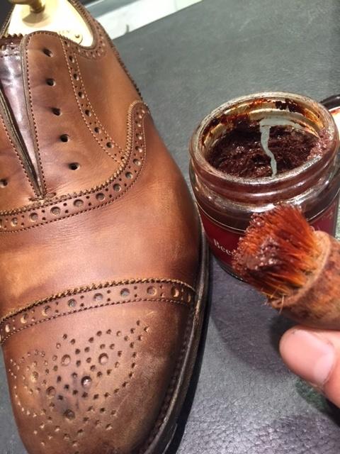 革靴は洗えるんです!!(仕上げ編)_b0226322_16434211.jpg