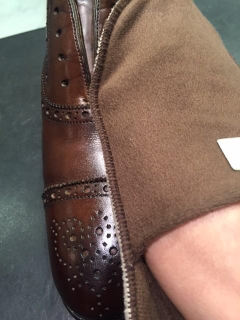革靴は洗えるんです!!(仕上げ編)_b0226322_16481281.jpg