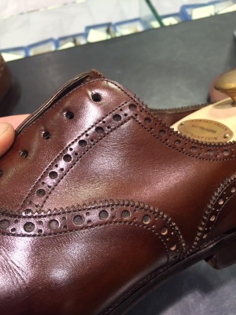 革靴は洗えるんです!!(仕上げ編)_b0226322_16492731.jpg