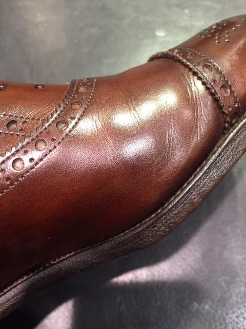 革靴は洗えるんです!!(仕上げ編)_b0226322_16500724.jpg