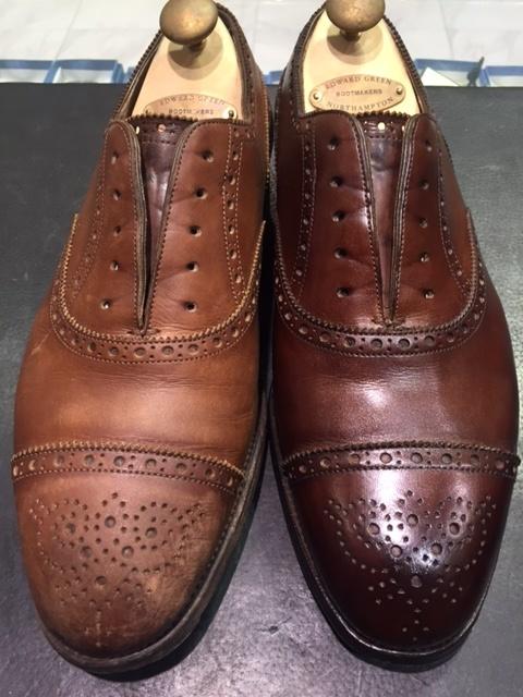 革靴は洗えるんです!!(仕上げ編)_b0226322_16505710.jpg