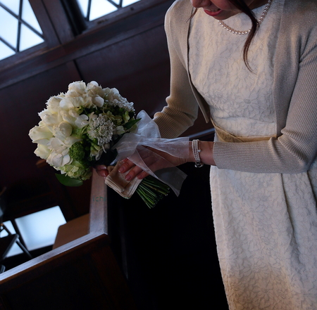 新郎新婦様からのメール 高輪教会の花嫁様より 五感を通して受け入れる切なさを_a0042928_22564885.jpg