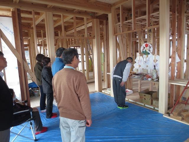大屋根の本格和室の家⑧(上棟式、サッシ工事)+見学会のご案内_c0220930_08242177.jpg