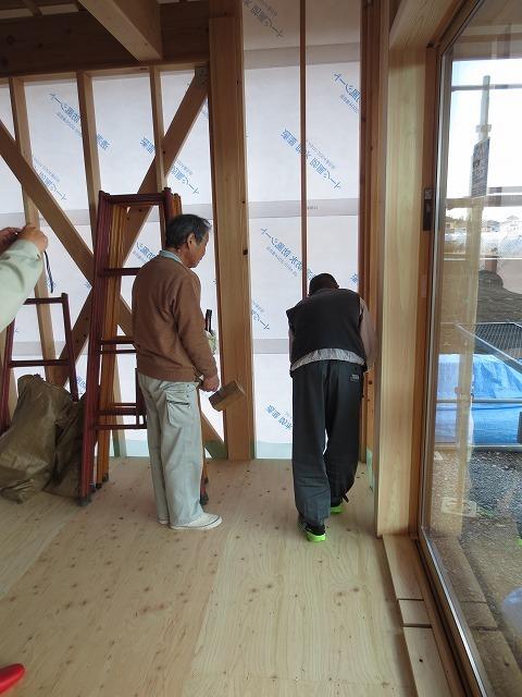大屋根の本格和室の家⑧(上棟式、サッシ工事)+見学会のご案内_c0220930_08371796.jpg