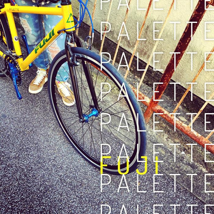 2016 FUJI PALETTE パレット fuji フジ 自転車女子 自転車ガール おしゃれ自転車 クロスバイク_b0212032_195454.jpg