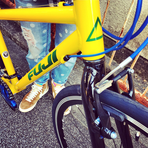 2016 FUJI PALETTE パレット fuji フジ 自転車女子 自転車ガール おしゃれ自転車 クロスバイク_b0212032_1962486.jpg