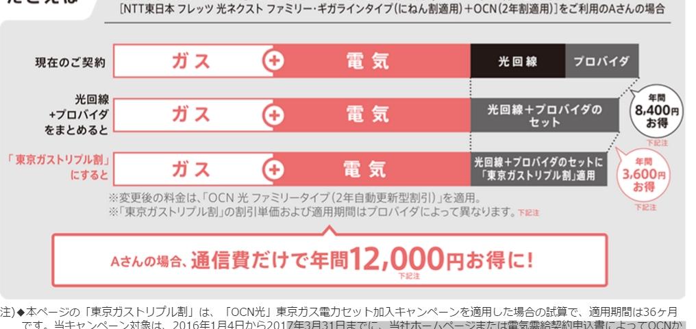 東京ガスのトリプル割はやるべきかどうか_e0253932_12381450.jpg
