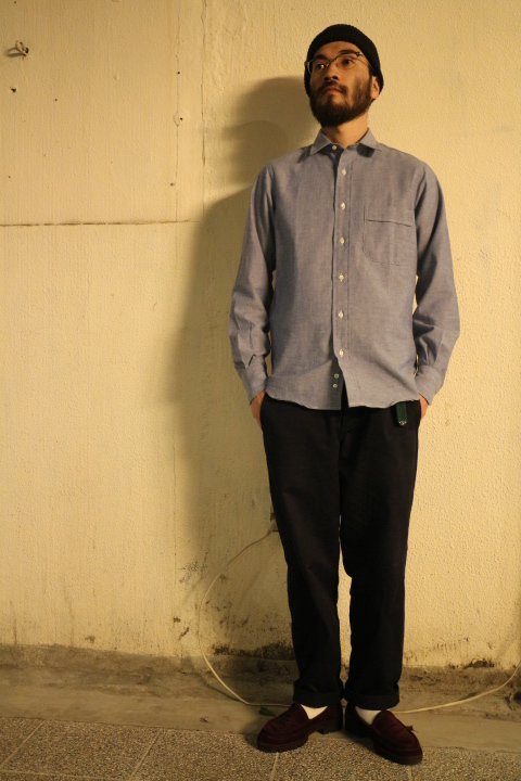 【NEW ARRIVAL】 -INDIVIDUALIZED SHIRTS-_b0121563_19252487.jpg
