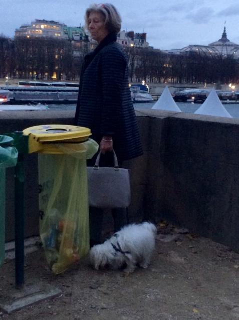 パリの清掃車と町中に置いてあるゴミ箱_d0337937_09483916.jpg