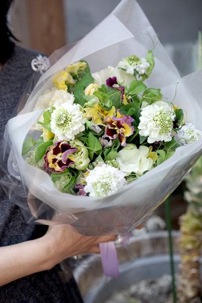 大濠サロンさんでのlesson   bouquet printanier_f0127281_17171587.jpg