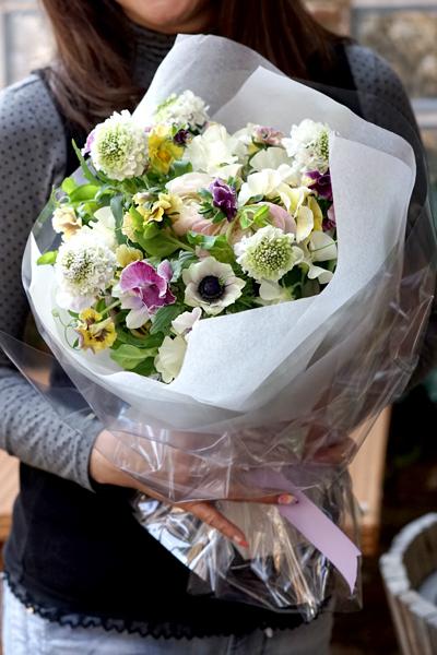 大濠サロンさんでのlesson   bouquet printanier_f0127281_17172854.jpg