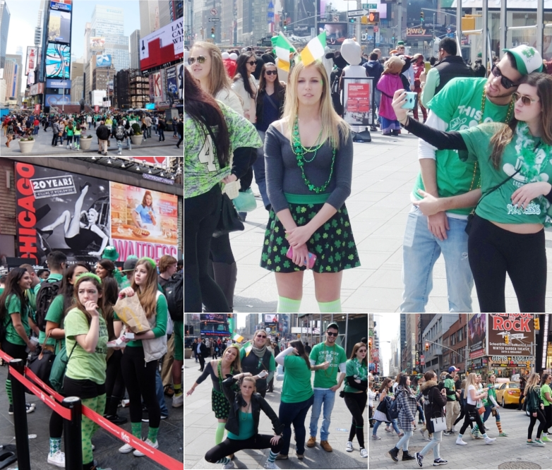 セント・パトリック・デー(St. Patrick\'s Day)のNYの街角風景_b0007805_11464941.jpg