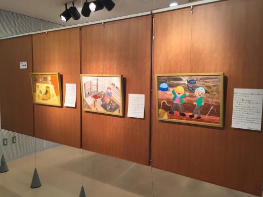 『工房あんと絵画・造形教室作品展』 始まりました。_b0262124_03225582.jpg