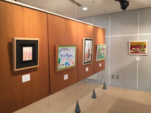 『工房あんと絵画・造形教室作品展』 始まりました。_b0262124_03225688.jpg