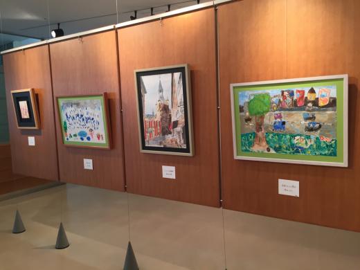 『工房あんと絵画・造形教室作品展』 始まりました。_b0262124_03225722.jpg