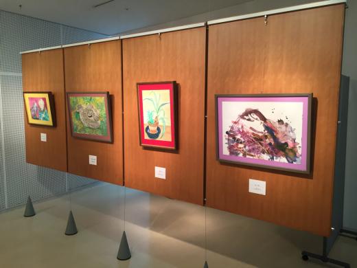 『工房あんと絵画・造形教室作品展』 始まりました。_b0262124_04100814.jpg