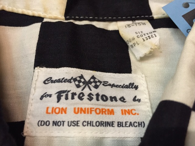 3月23日(水)大阪店、春夏物Shirt&服飾雑貨入荷!!#1 WorkShirt編!Firestone!!_c0078587_18404074.jpg