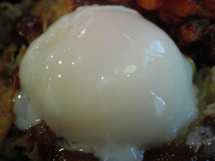すき家の牛ビビンバ丼定食  西宮今津巽店_c0118393_1751427.jpg