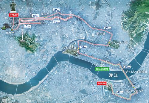 Seoulマラソン2016 Good Luck! ランナーさん_a0279116_14491058.jpg