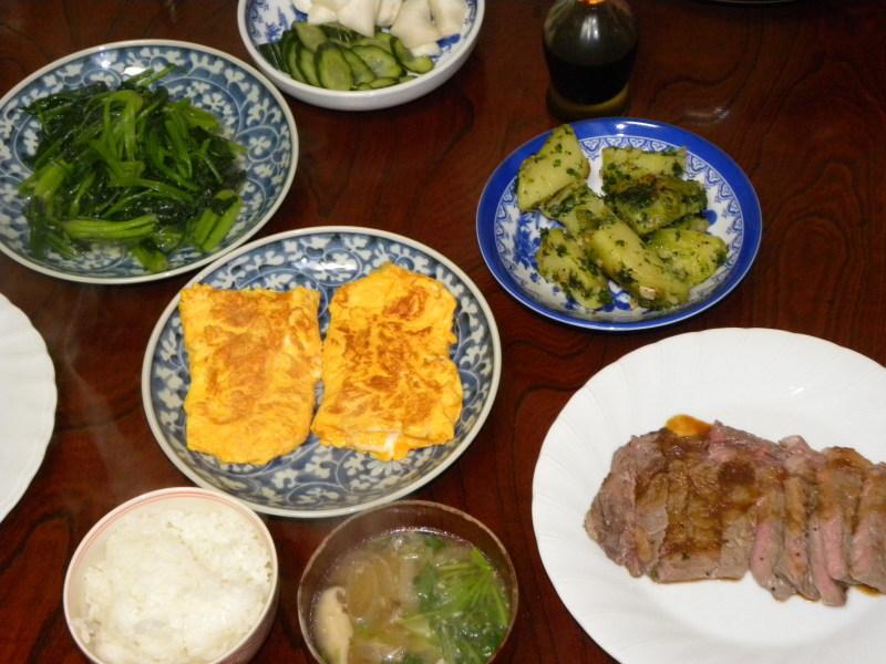 昨日の晩御飯とアーモンドバター_c0162773_11122303.jpg