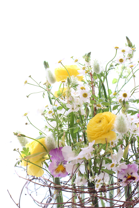 春のアレンジメント_f0306287_1564218.jpg