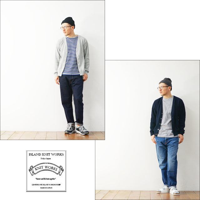 ISLAND KNIT WORKS [アイランドニットワークス] 10G LINKS CARDIGAN [IKW-CD-40] MEN\'S_f0051306_20080324.jpg