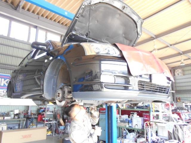 アベンシス車検整備・ベンツC200 12ヶ月点検中(*゚∀)ノ_c0213517_14210175.jpg