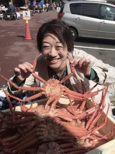 カニ食べいこぉ〜ツアー♬_a0126418_15440876.jpg