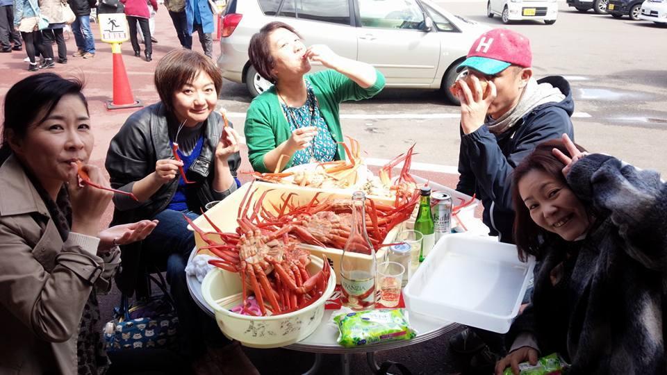 カニ食べいこぉ〜ツアー♬_a0126418_15505221.jpg