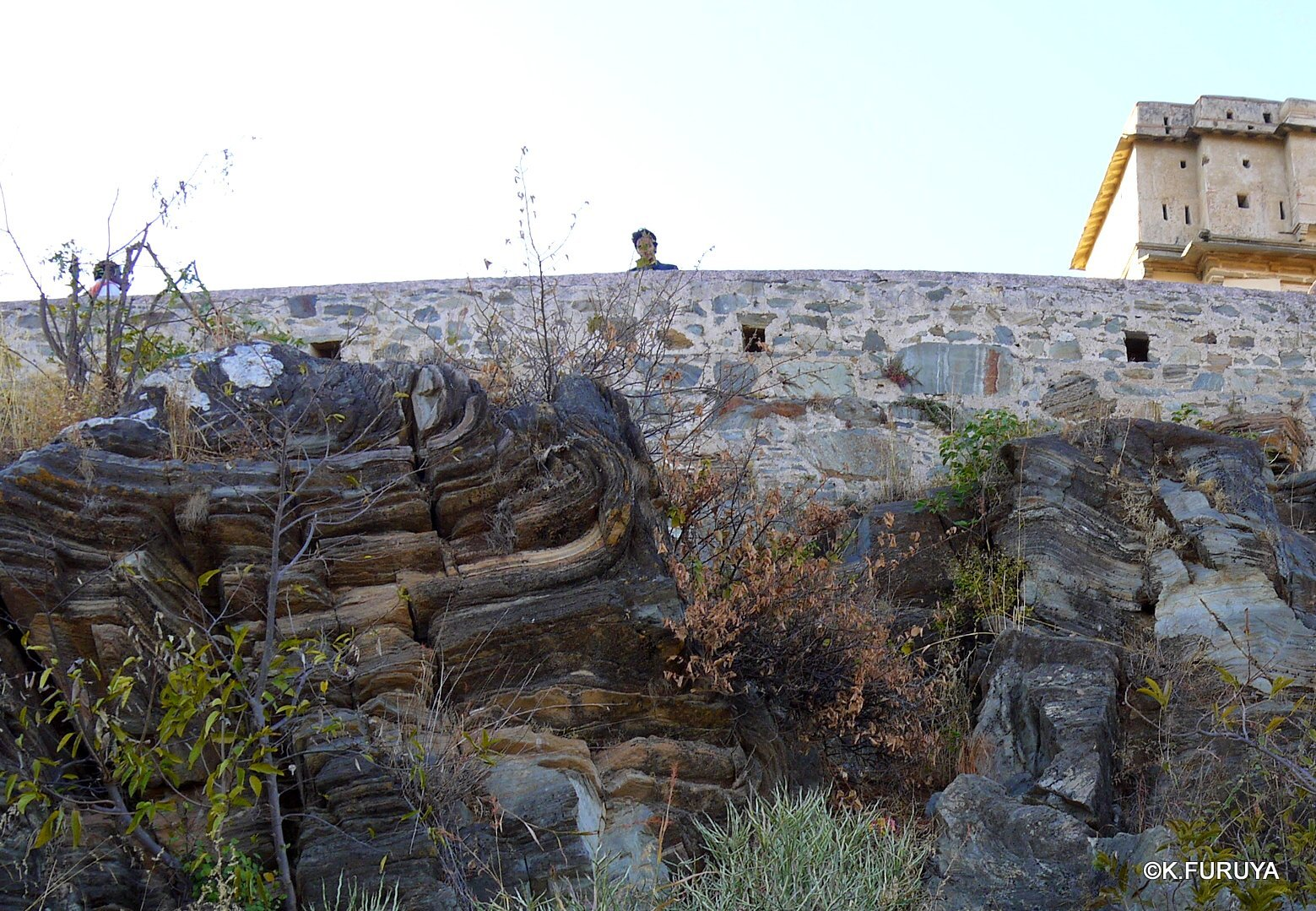 インド・ラジャスタンの旅 12 インド版「万里の長城」クンバルガル砦_a0092659_17313996.jpg
