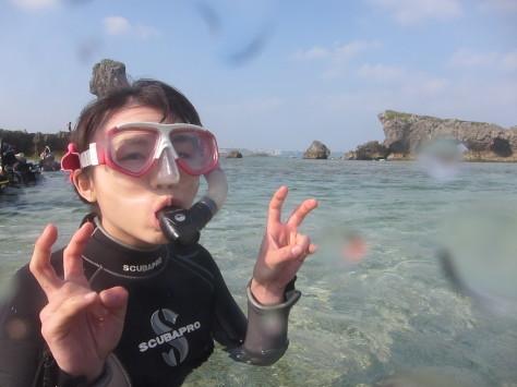 ビーチコース☆青の洞窟☆地形ダイビング!!_a0156273_13151583.jpg